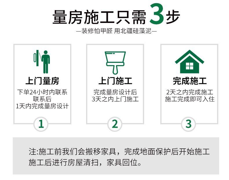 量房施工只需3步