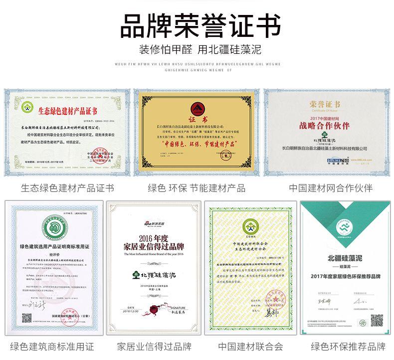 品牌荣誉证书