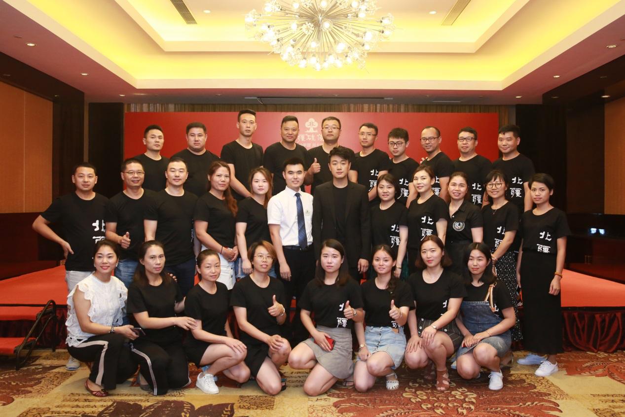 佟大为亲临无锡助阵北疆硅藻泥绿色环保事业