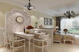 A1-地中海五-餐厅-丝网印-生如夏花