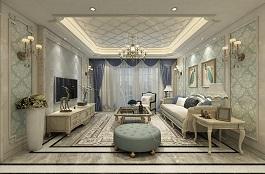 A1-法式二-客厅-丝网印