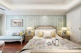 A2-美式一-卧室-丝网印-生如夏花