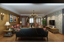 A1-美式三-客厅-丝网印
