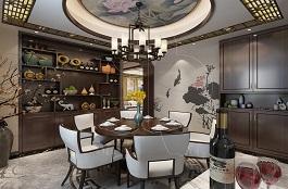 A3-中式四-餐厅-手绘