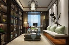 A1-中式五-茶室-手绘