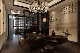 A3-中式二-茶室-手绘