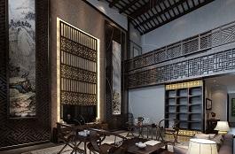A2-中式五-客厅-手绘-肌理-土伦