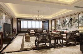 A3-中式三-客厅-手绘-凡尔赛宫