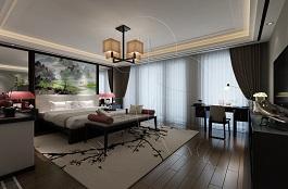 A1-中式四-卧室-手绘