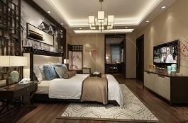 A2-中式二-卧室-手绘