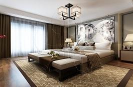 A2-中式三-卧室-手绘