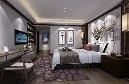 A2-中式五-卧室-手绘