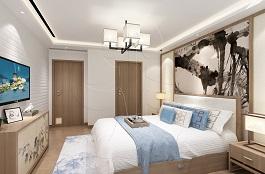 A3-中式-5卧室-砖艺-肌理-布艺