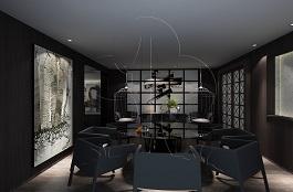 A1-现代二-餐厅-手绘
