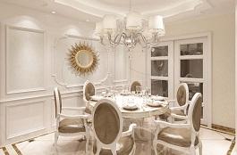 A3-欧式三-餐厅-肌理--压花-梦幻-凡尔赛宫