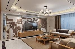A3-中式二-客厅-刻花-肌理-压花