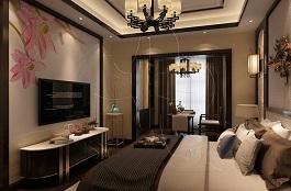 A3-中式二-卧室-肌理-手绘-生如夏花