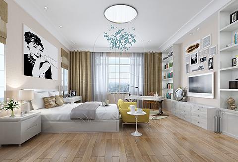 用硅藻泥装修卧室,健康舒适好睡眠