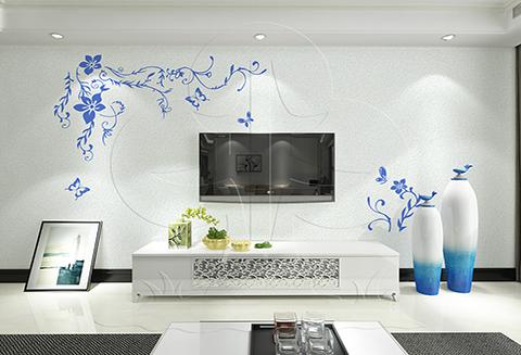 【北疆硅藻泥】硅藻泥电视背景墙的优势有哪些?