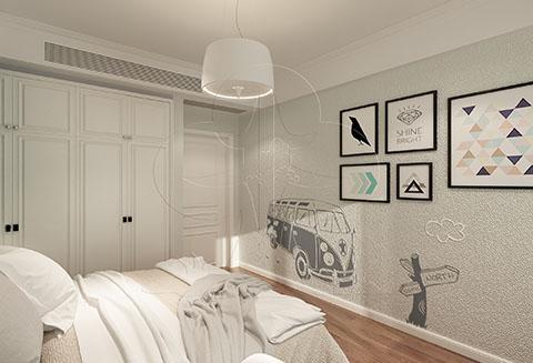 【北疆硅藻泥】卧室装修用硅藻泥,兼具艺术与环保于一身